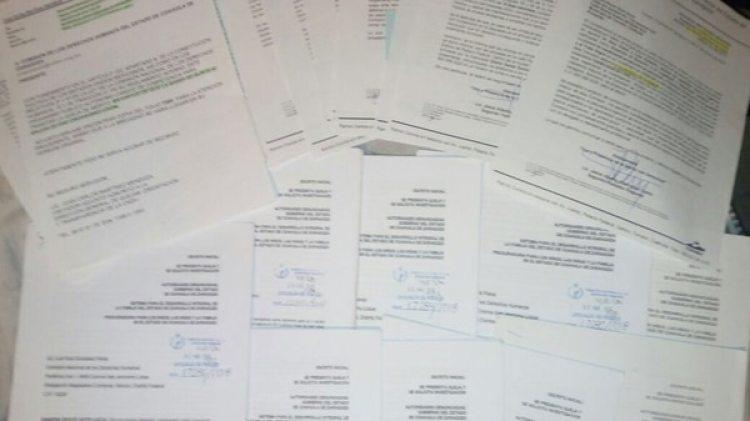 Las quejas de los 40 casos de huérfanos del feminicidio ante la CNDH.