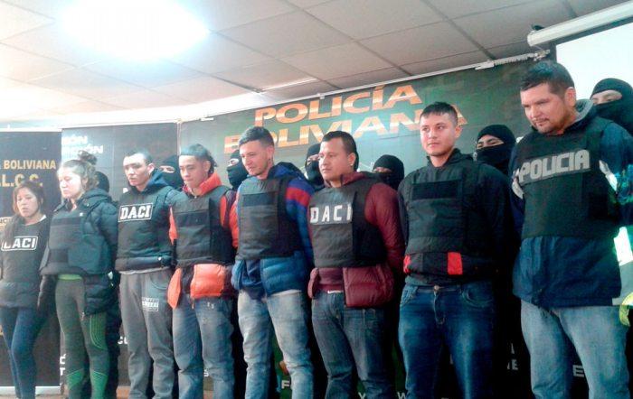"""CIUDADANOS COLOMBIANOS DETENIDOS POR SU IMPLICANCIA EN EL DELITO DE PRÉSTAMOS """"GOTA A GOTA"""" CON EL 40% DE INTERÉS."""