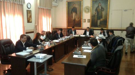 Sesión del Concejo de Cochabamba. Foto:Fernando Cartagena
