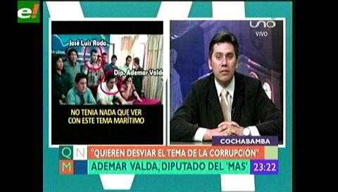"""Diputado Valda: """"El MAS no quiere hacer un golpe municipal en Cochabamba"""""""