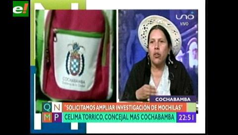 Concejal Torrico: Al MAS no le interesa el sillón de la alcaldía de Cochabamba