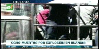 Video titulares de noticias de TV – Bolivia, mediodía del miércoles 11 de abril de 2018