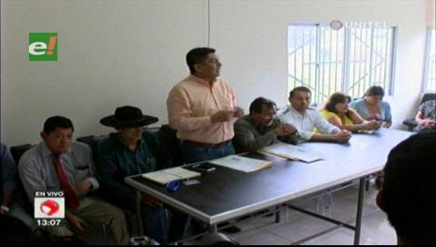 Parlamentarios realizaron una inspección para conocer la situación en Palmasola