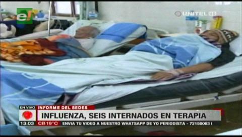 Santa Cruz: Seis personas se encuentran en terapia intensiva por influenza
