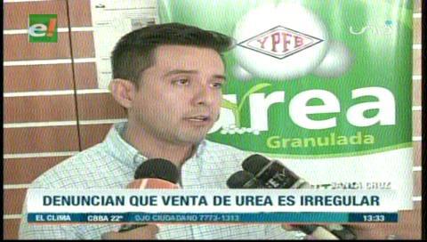 Diputado Serrano enviará una petición de informe al Ministro de Hidrocarburos por la venta irregular de urea
