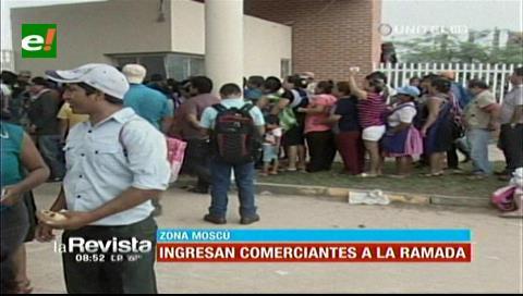 Gremiales hacen fila para ganar puestos en muevo mercado La Ramada