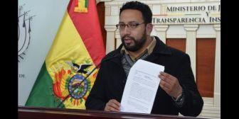 Gobierno afirma que daño económico de $us 4 millones que causó García Meza no quedará impune