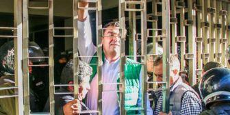 Gobierno buscará que alcalde Leyes sea enviado a la cárcel en audiencia del viernes