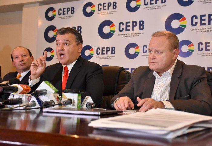 DIRIGENTE DE LOS EMPRESARIOS PRIVADOS DE BOLIVIA, RONALD NOSTAS, ANUNCIÓ CONGRESO EXTRAORDINARIO DE SU SECTOR.