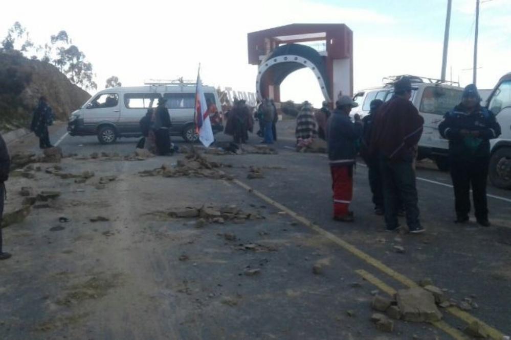 Chuquisaca endurece protestas y pide al Gobierno diálogo en Sucre