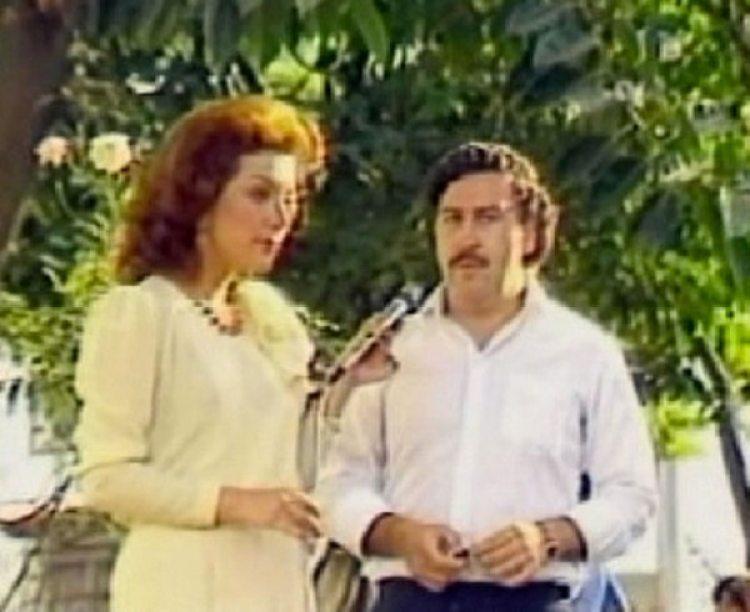 """Virginia Vallejo lo entrevistó para la tevé colombiana, lo llamaban """"el Robin Hood Paisa"""""""
