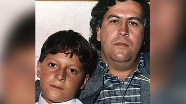 """El narco Pablo Escobar con su hijo Juan Pablo: """"El cambio de identidad fue un esfuerzo para llevar una vida normal"""""""