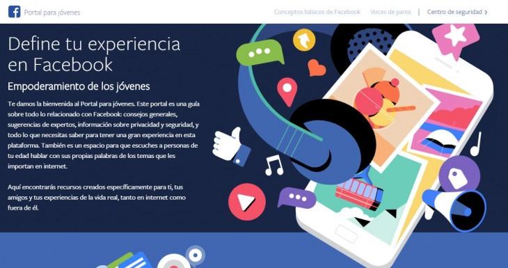 Facebook lanza 'Portal Joven' para educar sobre el uso de los datos