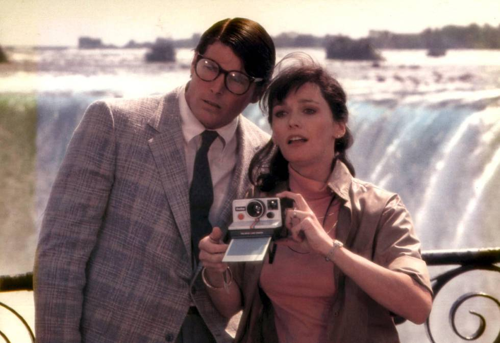 Margot Kidder y Christopher Reeve en una imagen de la película