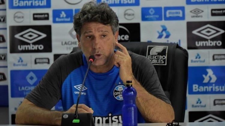 Renato Gaúcho fue uno de los impulsores de las donaciones (AFP)