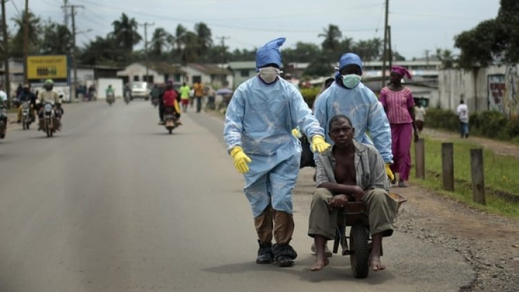 Una foto durante la epidemia en Liberia (AP Photo/Jerome Delay)