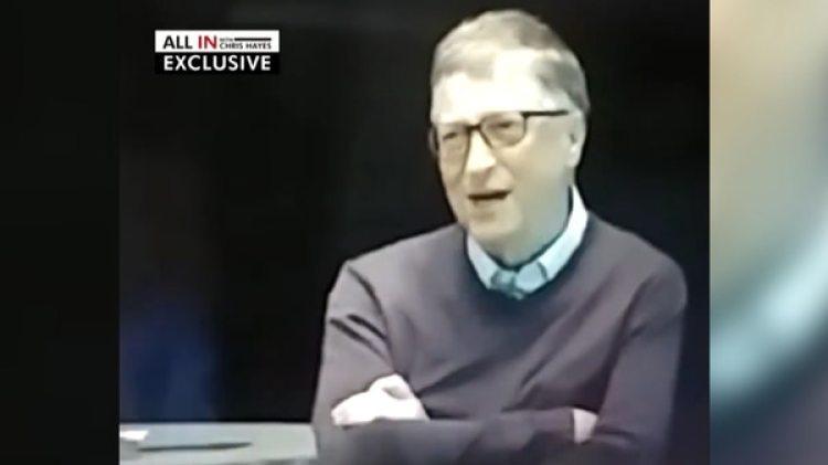 Bill Gates durante una charla motivacional en la fundación que preside junto con su esposa, Melinda. Allí se refirió en términos hirientes contra Donald Trump, presidente de los Estados Unidos