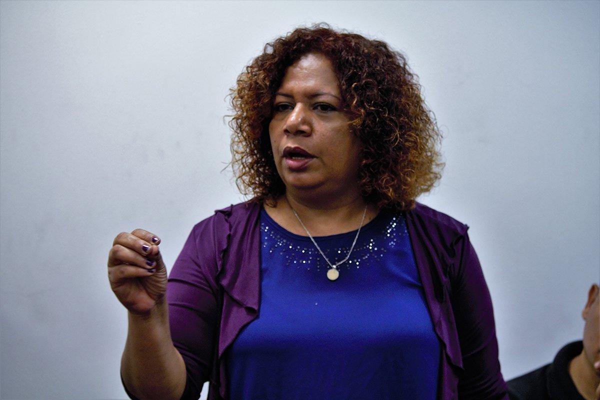 La periodista Luz Mely Reyes denunció que ya habían votado por ella | Foto Referencia