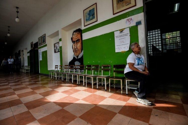 Las elecciones estuvieron marcadas por una altísima abstención (AFP)