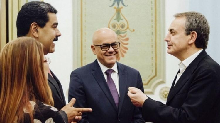 La oposición acusa a Zapatero de ser un aliado de Maduro (@NicolasMaduro)