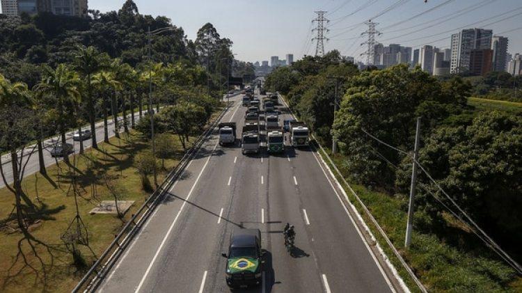 Las protestas fueron anunciadas desde el pasado viernes por la ABCAM y por CNTA por el incremento constante del diésel (AFP)