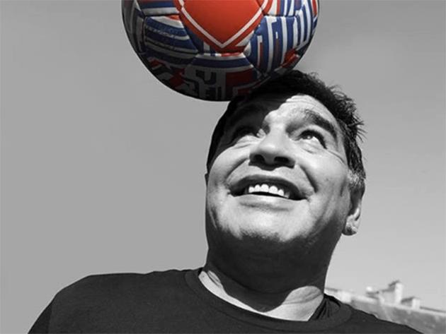 Maradona apoyó a Guerrero en su cuenta de Instagram