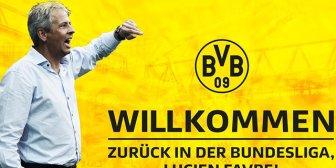 Lucien Favre, nuevo técnico del Borussia Dortmund