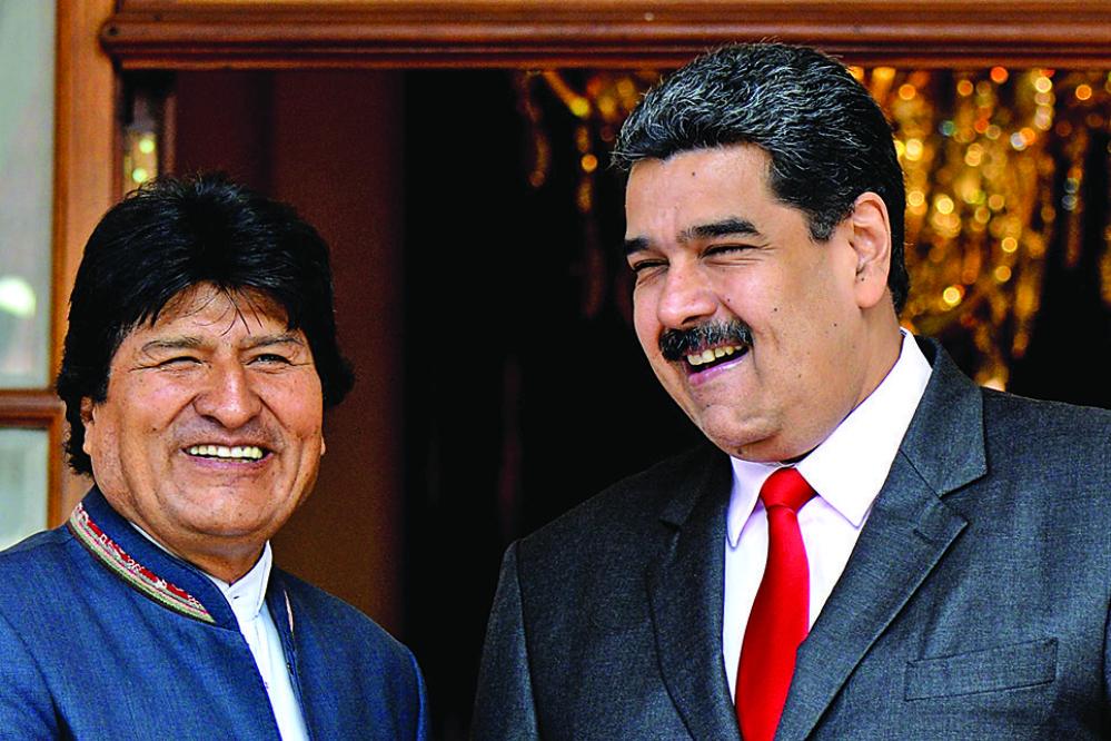 Bolivia, el único país de la región que respalda al reelecto Maduro