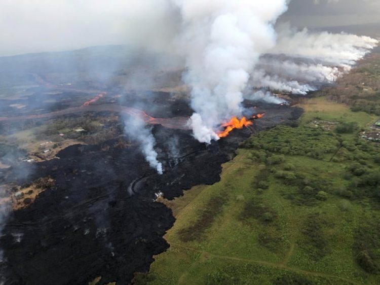 Vista aérea de la fisura 22 (Reuters)