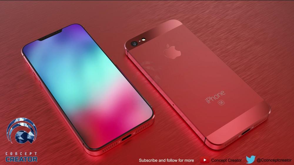 iPhone SE 2 con carcasa de color rojo