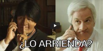 Aspiración marítima de Bolivia es usada como sátira en un comercial de Chile