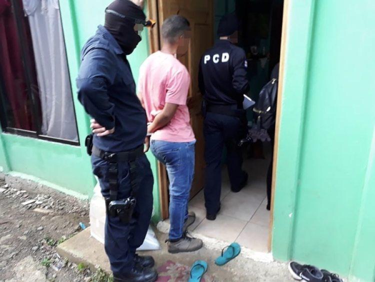 22 miembros de una red de narcotráfico fueron detenidos en Costa Rica