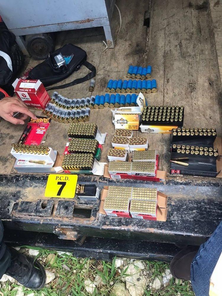 Las municiones incautadas en el operativo en Costa Rica