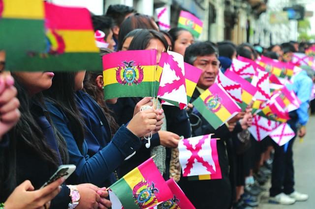 CIVISMO. Chuquisaca conmemora mañana los 209 años del Primer Grito de Libertad de América Latina.