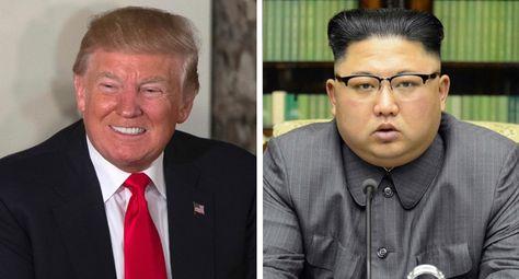 Donald Trump (izq.) y Kim Jong Un debían reunirse el 12 de junio en Singapur