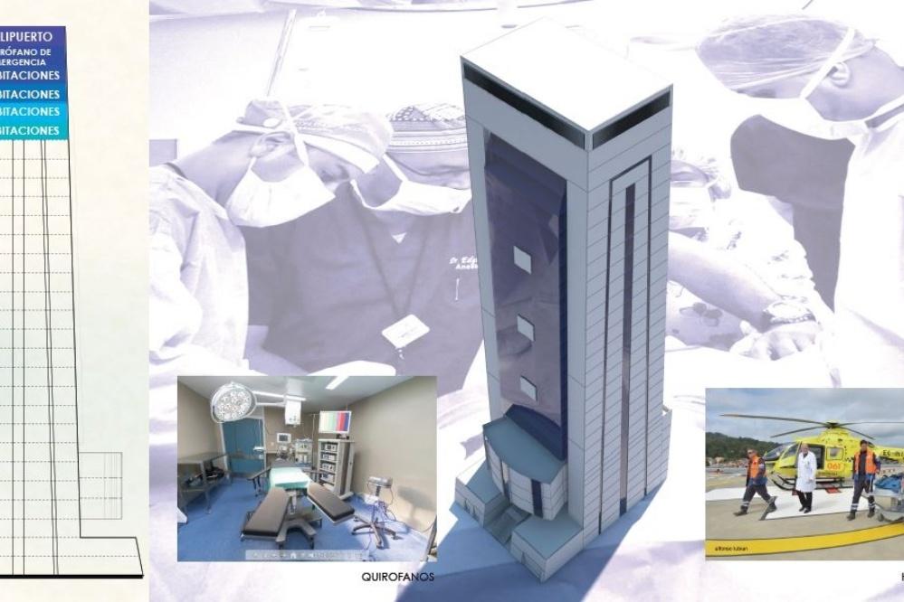 Mira el proyecto de Doria Medina para convertir el nuevo Palacio en un hospital