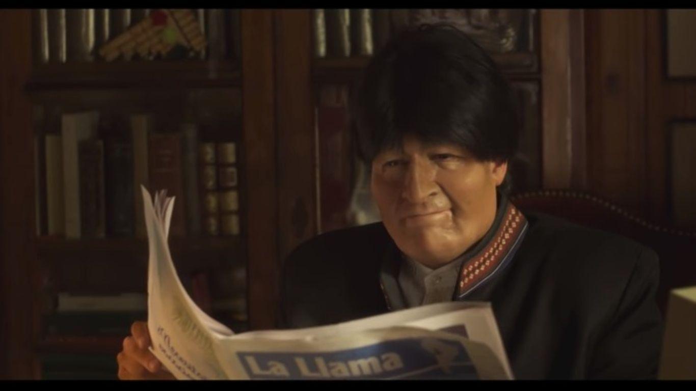 En un comercial chileno satirizan a Evo Morales y la demanda marítima