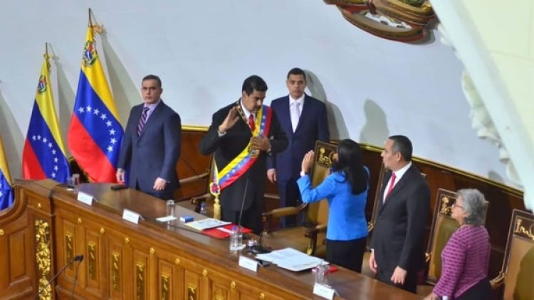 Maduro tomó juramento ante la Constituyente