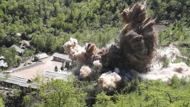 En este centro ha realizado Pyongyang sus seis pruebas nucleares en 2006, 2009, 2013, 2016 (en dos ocasiones) y la última y más potente en septiembre de 2017 (AP)