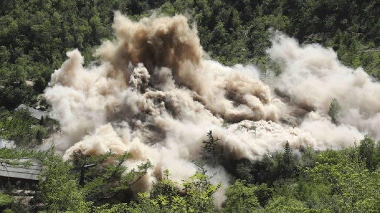 La demolición fue anunciada luego de que las dos Coreas firmaran una declaración (AP)