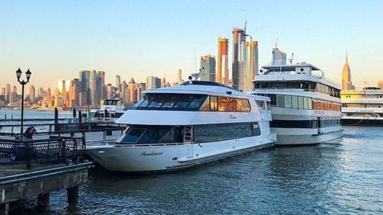 El choque entre los barcos fue en el Río Hudson