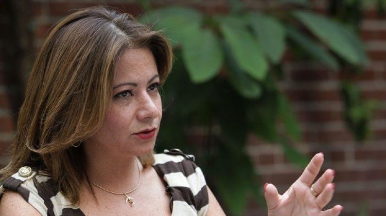 Myrna Díaz, ex tripulante de Global Air (EFE)
