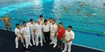 Argentina derrota 7-4 a Colombia en waterpolo en la apertura del programa de competencias suramericanas