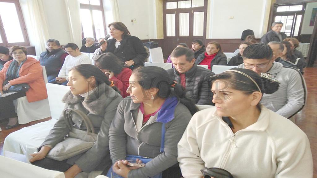 Los participantes destacaron el informe presentado.