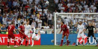 El espectacular gol de Gareth Bale en la final de la Champions League entre Real Madrid y Liverpool
