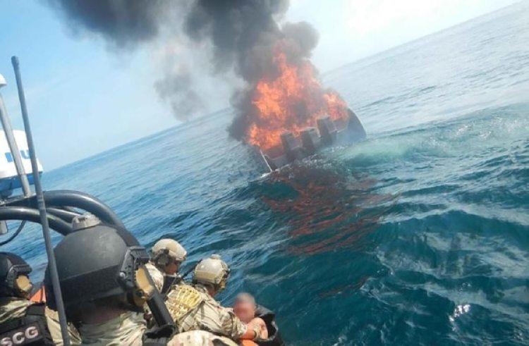 Operativos marítimos contra el tráfico de drogas.