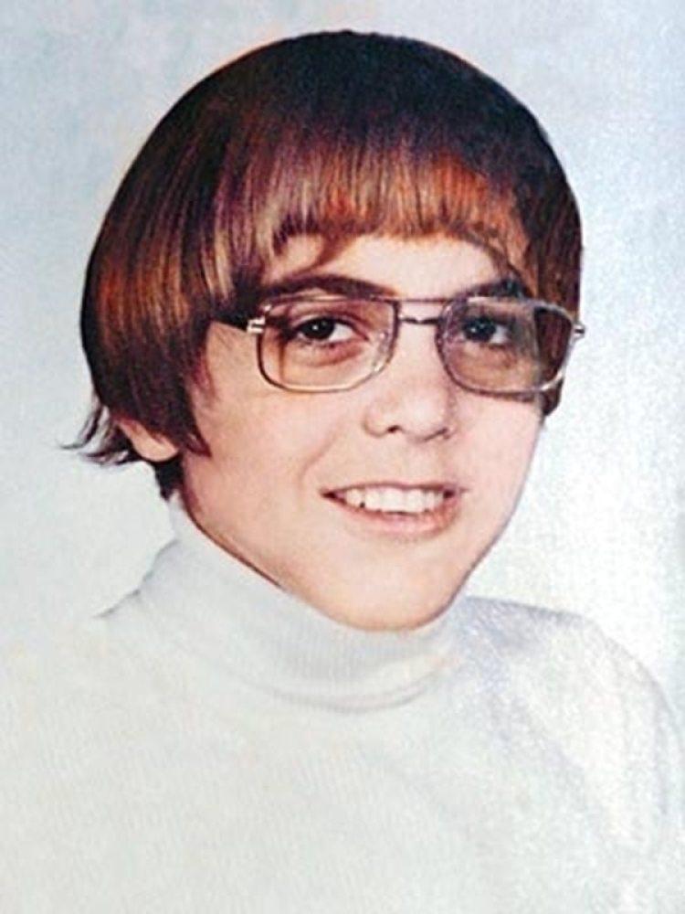 George Clooney de niño