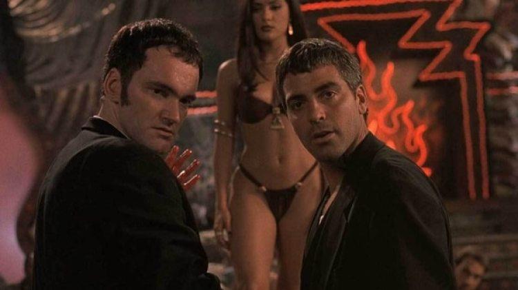 George Clooney y Tarantino