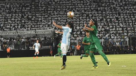 Incidencia del partido de fútbol femenino Bolivia – Argentina en los Juegos Cocha-2018.