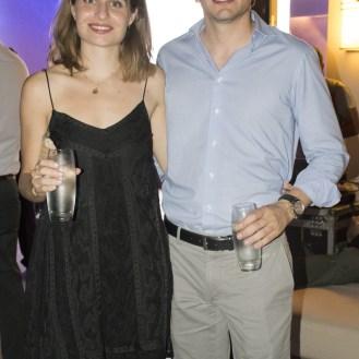 Carmen Mezquida y Juan Naura